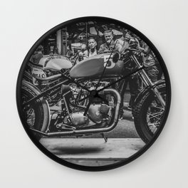 Bike shed London Wall Clock