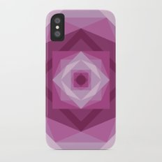 Shades of pink iPhone X Slim Case