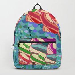 Mermaid Ice Cream Backpack