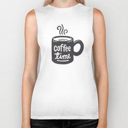 Coffee Time Biker Tank