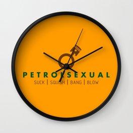 PETROLSEXUAL v7 HQvector Wall Clock