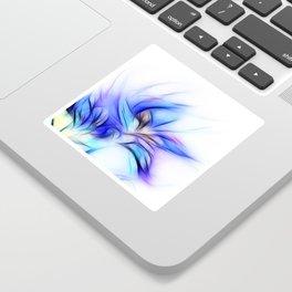 Night Bloom Invert Sticker