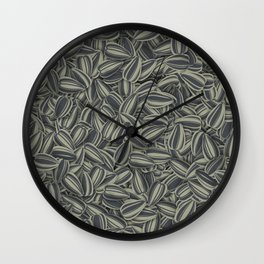 Pipas Mania (Spanish for sunflower seeds) Wall Clock