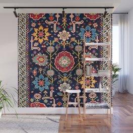Shirvan Caucasian Afshan Antique Rug Print Wall Mural