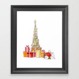 Season of Gifts Framed Art Print