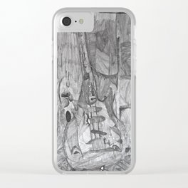 Pathways 9 Clear iPhone Case