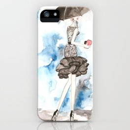 Rainy iPhone Case