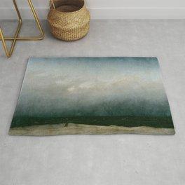 Caspar David Friedrich - The Monk by the Sea Rug