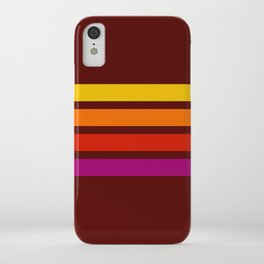 Naomasa - Classic Retro Stripes iPhone Case