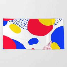 Primary Dots Beach Towel