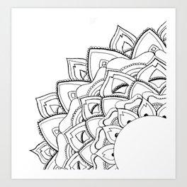Corner Art Art Print