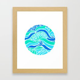 Makin Waves :: Color Therapy Collection :: Framed Art Print