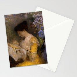 "Odilon Redon ""Madame Arthur Fontaine (Marie Escudier)"" Stationery Cards"