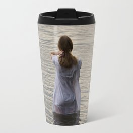 Dreaming in the water Travel Mug
