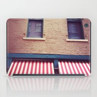 memphis iPad Cases featuring Memphis Wall by wendygray