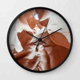 ANTELOPE CANYON XXIX Wall Clock
