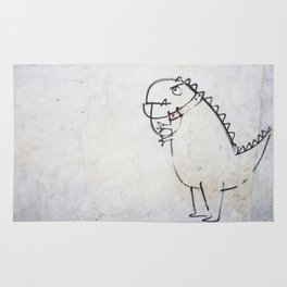 The dinosaur ate his owner Rug