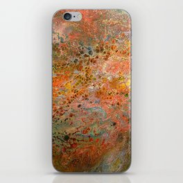 The surface of the planet iPhone Skin