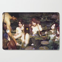 HYLAS AND THE NYMPHS - WATERHOUSE Cutting Board