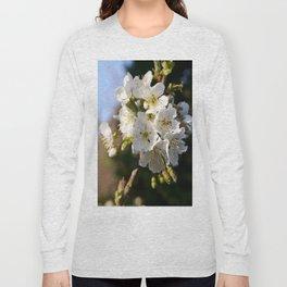 Sweet Cherry Blossoms Long Sleeve T-shirt