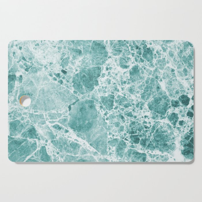 Tropical Sea Green Marble Cutting Board