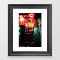 Absinth Bar Framed Art Print