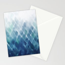 Diamond Fade in Blue Stationery Cards