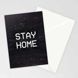 STAY HOME Stationery Cards