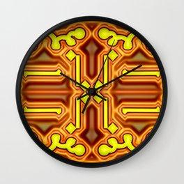 Mandala with edges ... Wall Clock