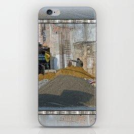 CONSTRUCTION SITE POKHARA NEPAL iPhone Skin