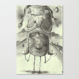 Friends in love Canvas Print