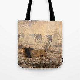On Patrol by Alan M Hunt Tote Bag