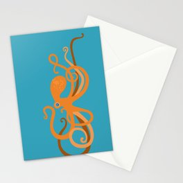 Octopus Swirl Stationery Cards