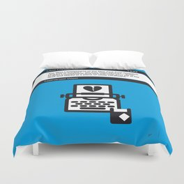 No011 MY Miss Lonelyhearts Book Icon poster Duvet Cover