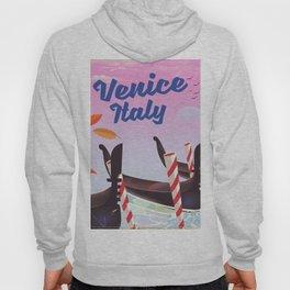 Venice Italy Travel poster Hoody