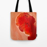 silhouette Tote Bags featuring Silhouette by Delphine Comte