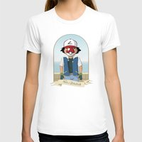 pokeball T-shirts featuring The Son of Pokeball by I.Nova