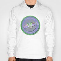pixar Hoodies featuring pixar disney toy story. buzz lightyear flight school  by studiomarshallarts