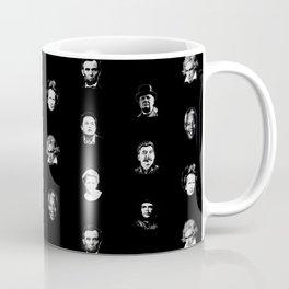 Historic Important People Pattern Coffee Mug