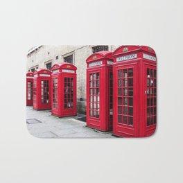Phone Booth Bath Mat