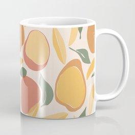 Modern Abstract Mango Pattern Coffee Mug