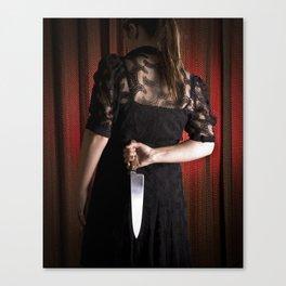 murderous Canvas Print