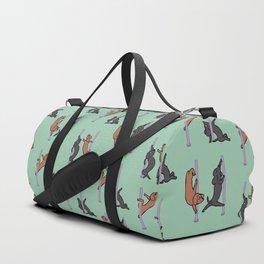 Dachshund Pole Dancing Club Duffle Bag