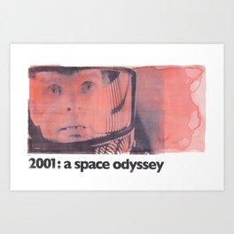2001: a space odyssey Art Print