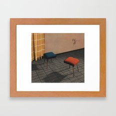 Dialog 7 Framed Art Print