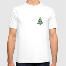 Anatomically Correct Mens Fitted Tee White SMALL