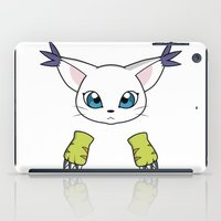 digimon iPad Cases featuring Gatomon by JoSumdac