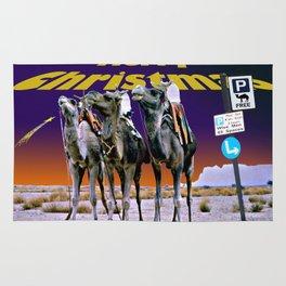 Christmas - Three Wise Men Parking Bay. Rug