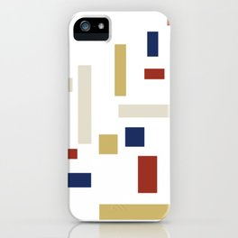 Abstract Theo van Doesburg Composition VIII (White) The Three Graces iPhone Case