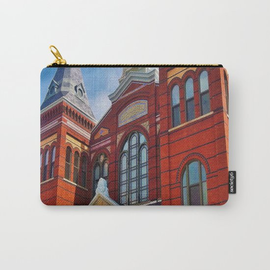 Washington DC Red Brick Carry-All Pouch